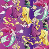 Disney Princesses Allover Fabric to sew - QuiltGirls®
