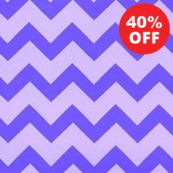 PURP Chevron Purple Tonal Fabric to sew