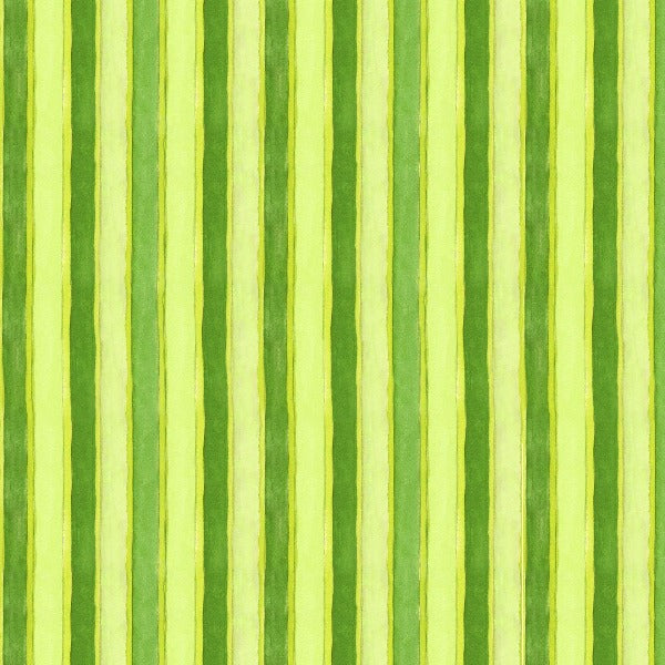 GRN Quiltlandia Green Stripe Fabric to sew - QuiltGirls®