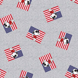 Snoopy as Joe Cool Patriotic Fabric to sew - QuiltGirls®