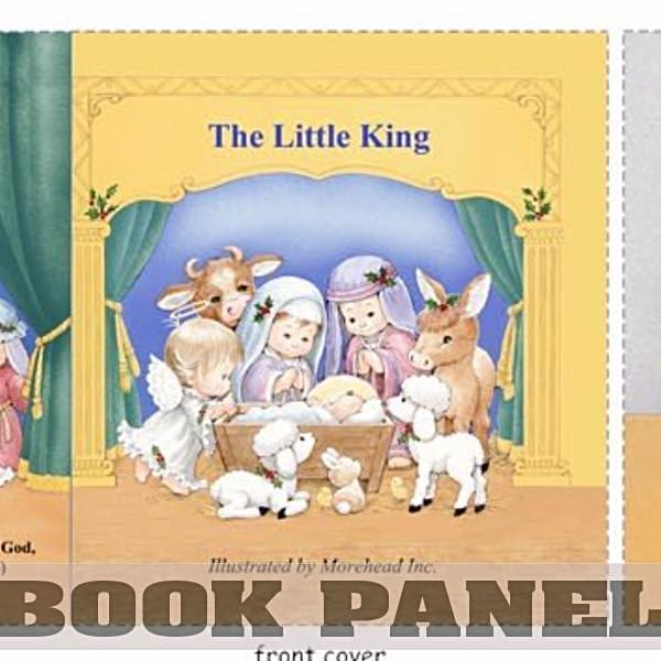The Little King Fabric Book Panel to Sew