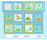 Toby Turtle and His Friends Fabric Book Panel to Sew - QuiltGirls®
