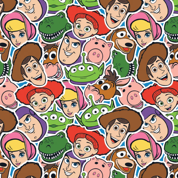 Toy Story 4, Characters Packed Fabric to sew - QuiltGirls®