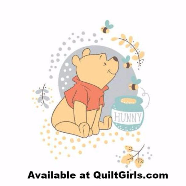 Pooh Bear Quilt Panel To Sew Quilt Girls 174 Quiltgirls 174