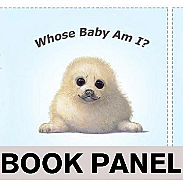 Whose Baby am I? Fabric Book Panel to Sew