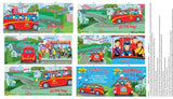 Wiggles on the Bus Fabric Book Panel to Sew - QuiltGirls®