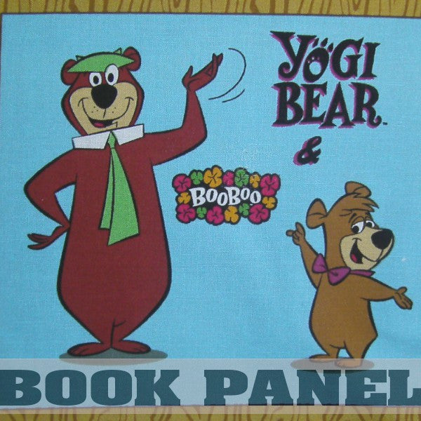 Yogi and Boo Boo Fabric Book Panel to Sew - QuiltGirls®