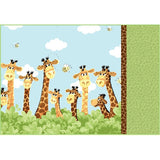 Susybee's Zoe the Giraffe Pillow Case Kit to sew - QuiltGirls®