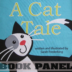 A Cat Tale Fabric Book Panel to sew - QuiltGirls®