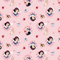 Disney Snow White in Wreaths Fabric to Sew - QuiltGirls®