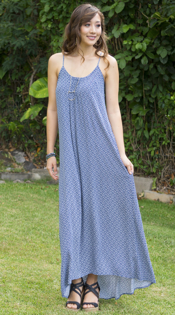 Cinnamon Girl Maxi Rayon Dress
