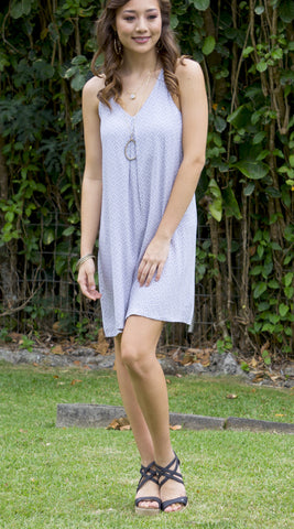 Elly Dress in 555 Grey