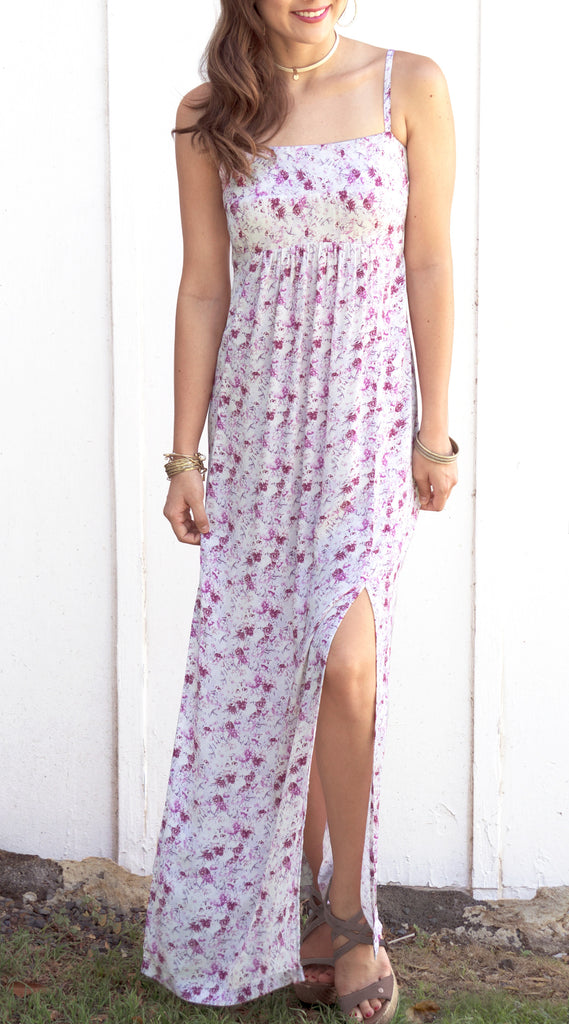Kayla Maxi Dress in 568 Lavender