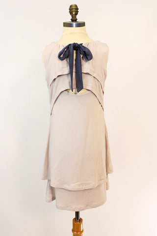 Lil Quinn Dress in Taupe