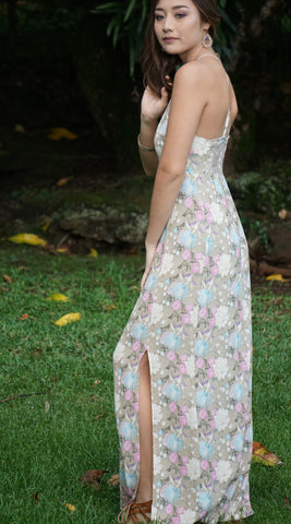 Maya Maxi Dress in 558 Natural