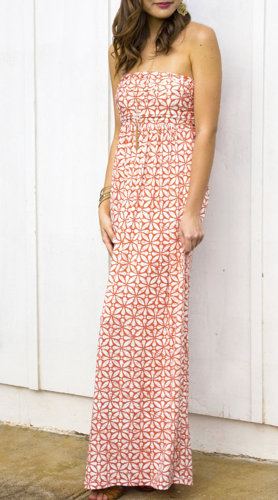 Sandy Maxi in 552 Orange