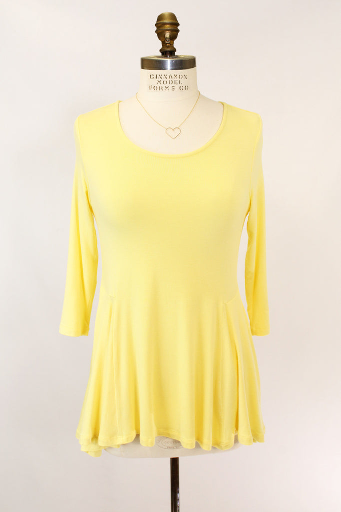 Jan Blouse in Yellow