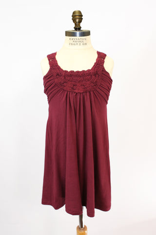 Lil Blaire Dress in Burgundy
