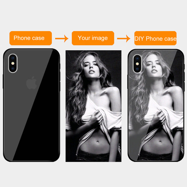 Customized Tempered Glass Cases For iPhone