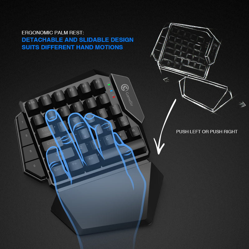 GameSir Z2 Bluetooth Gaming Keypad and Mouse