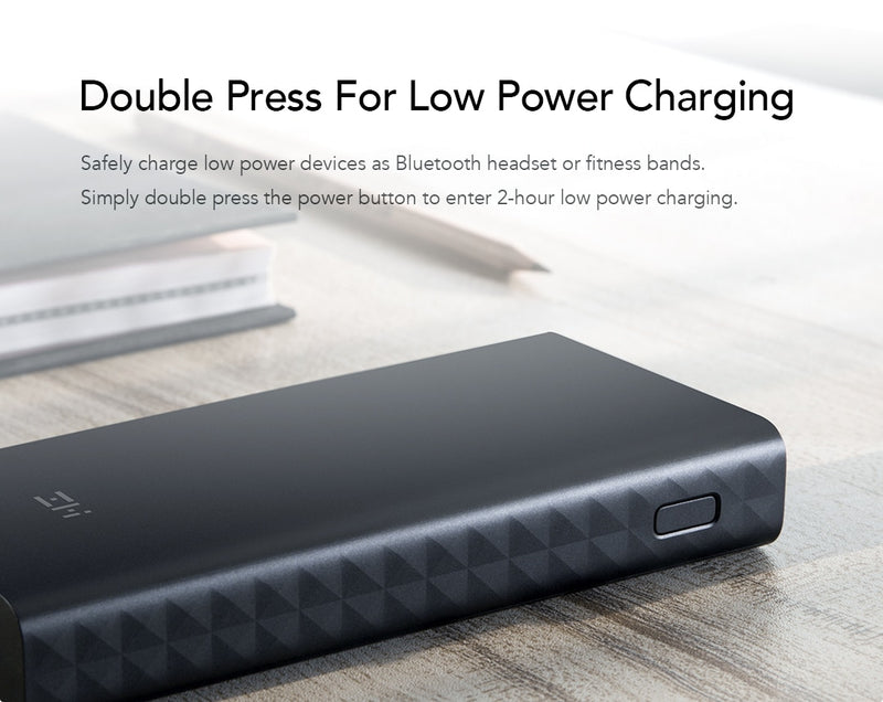 ZMI 20000mAh Portable Power Bank with LED Read Out