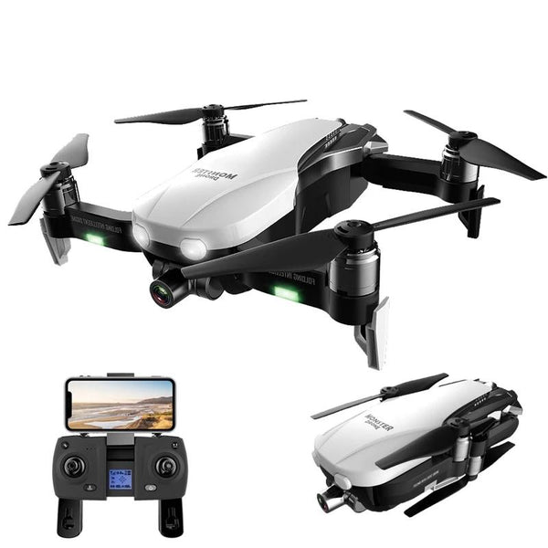 F8 Brushless Motor Quadcopter w Two-Axis Anti-Shake Self-Stabilizing