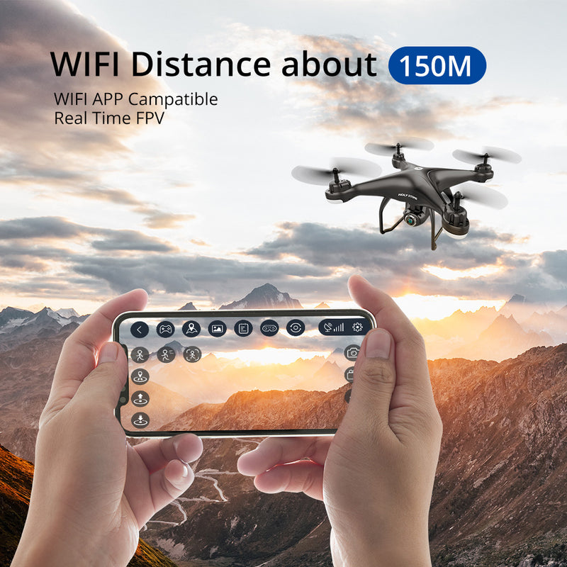 HS120D FPV Drone with GPS System