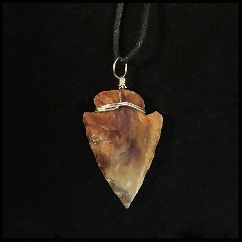 Arrowhead Necklace - 1in.