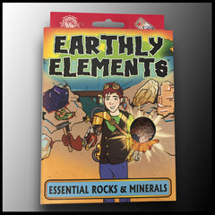 Earthly Elements: Essential Rocks & Minerals Kit Case of 12