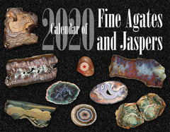 2020 Calendar of Fine Agates and Jaspers