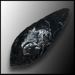 "Obsidian ""Dragonglass"" Blade - small"