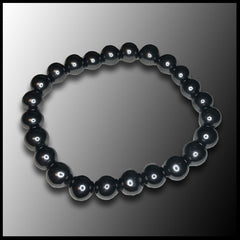 Shungite Beaded Bracelet - 8mm