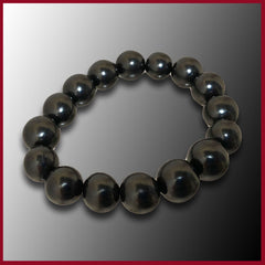 Shungite Beaded Bracelet - 12mm
