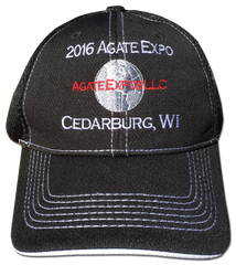 2016 Agate Expo Hat - Black