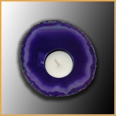 BRA196ch Brazilian Agate Candle Holder