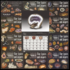 Calendar of Fine Agates and Jaspers Collection