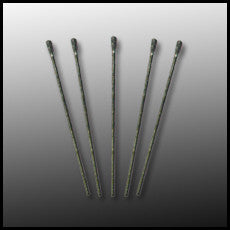 Diamond Drill Bit 1.1mm, Triple Ripple Pack of 5