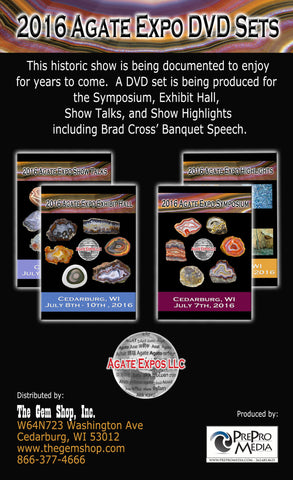2016 Agate Expo DVD Complete Set