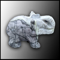 Picasso Marble Elephant