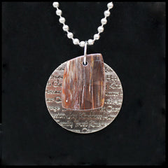 ESC108in Escape Inspirational Medallion Necklace