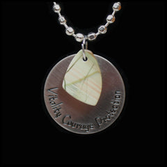 ESC114ja Escape Jasper Medallion Necklace