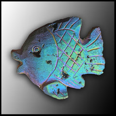 Rainbow Fish Carving