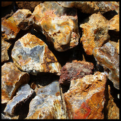 Graveyard Point Plume Agate (Classic) - 2020 Mining Operation