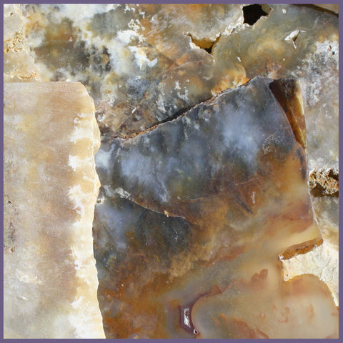 Graveyard Point Plume Agate Slabs