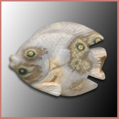 JCRFS193 Ocean Jasper® Fish Carving
