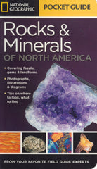 National Geographic Pocket Guide - Rocks & Minerals of North America