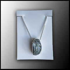 Raw Stone Pendant - Herkimer Diamond