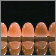 Pink Opal 4mm x 4mm Round bullets