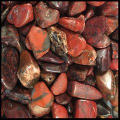 Red Brecciated Jasper