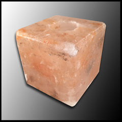 Himalayan Rock Salt Candle Holder (square)